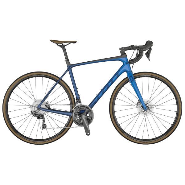 SCOTT Addict 10 disc marine blue Bike