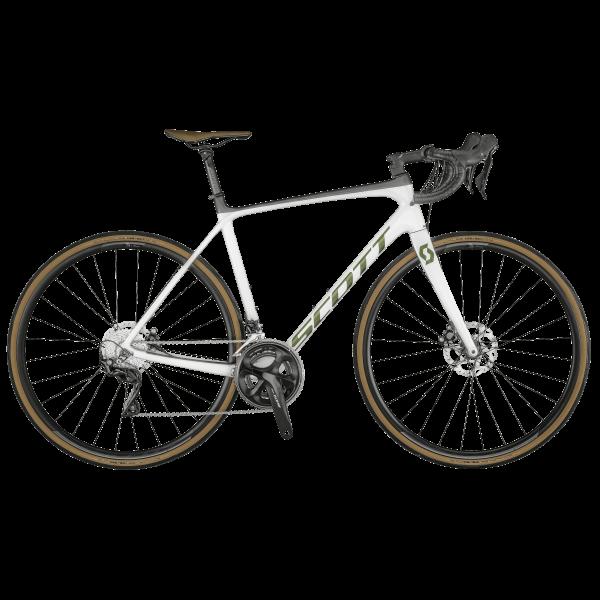 SCOTT Addict 20 disc pearl white Bike