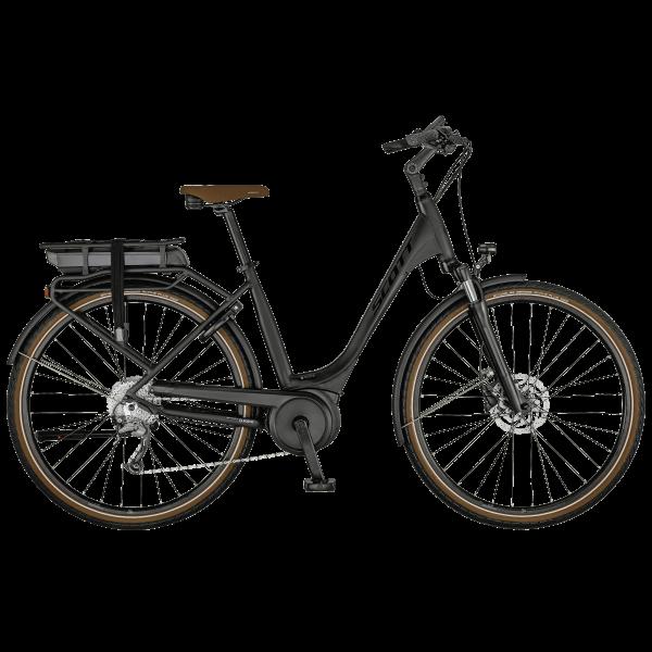 SCOTT Sub Active eRIDE 10 USX rack Bike