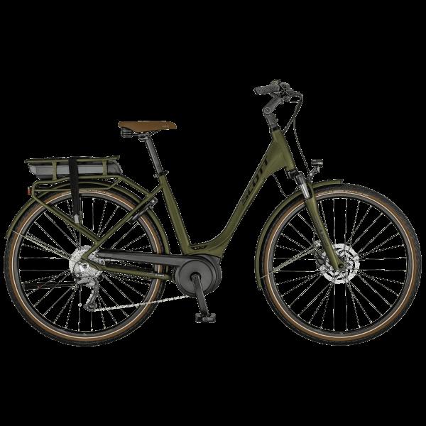 SCOTT Sub Active eRIDE 20 USX rack Bike