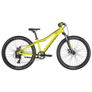 SCOTT Scale 24 disc yellow Bike