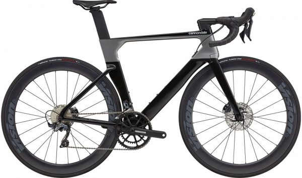 Cannondale SystemSix Carbon Ultegra Road Bike 2021 (Black/Silver)
