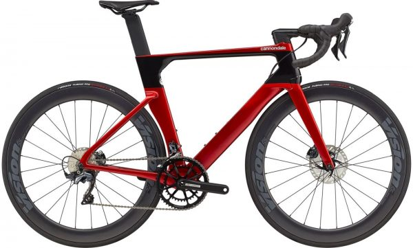 Cannondale SystemSix Carbon Ultegra Road Bike 2021 (Red/Black)