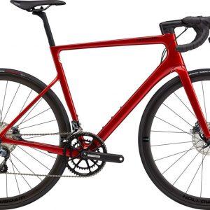 Cannondale SuperSix EVO Hi-MOD Disc Ultegra Road Bike 2021 (Red)
