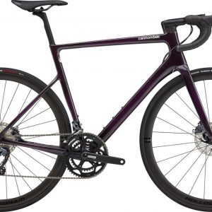 Cannondale SuperSix EVO Carbon Disc Ultegra Road Bike 2021 (Dark Purple)