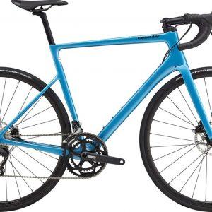 Cannondale SuperSix EVO Carbon Disc 105 Road Bike 2021 (Blue)