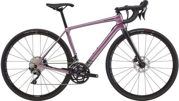 Cannondale Synapse Carbon Ultegra Womens Road Bike 2021 (Purple)