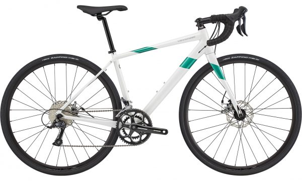 Cannondale Synapse Alloy Sora Womens Road Bike 2021 (White/Green)