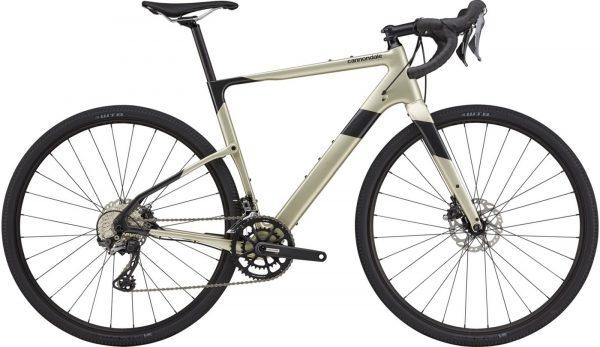 Cannondale Topstone Carbon 4 GRX Gravel Bike 2021 (Silver/Black)