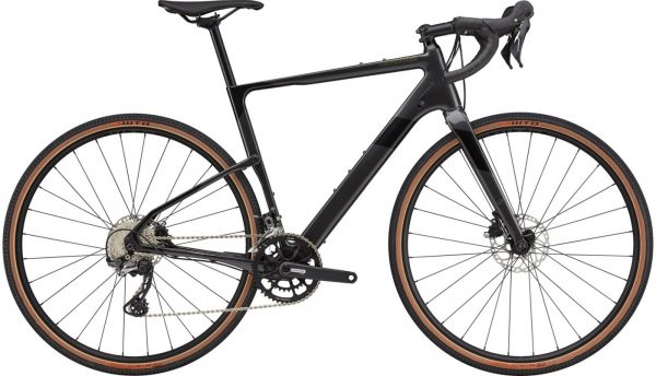 Cannondale Topstone Carbon 5 GRX Gravel Bike 2021 (Dark Grey/Black)