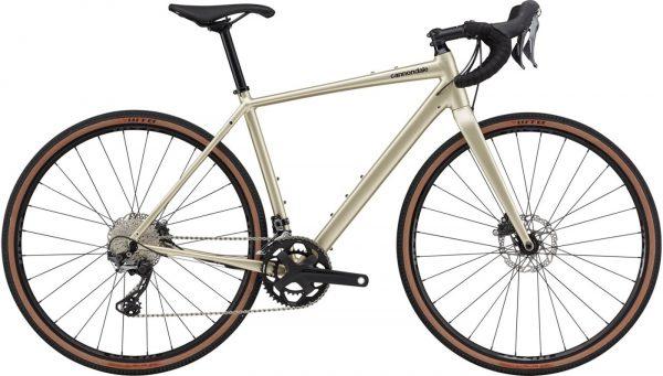 Cannondale Topstone 0 GRX Gravel Bike 2021 (Silver)