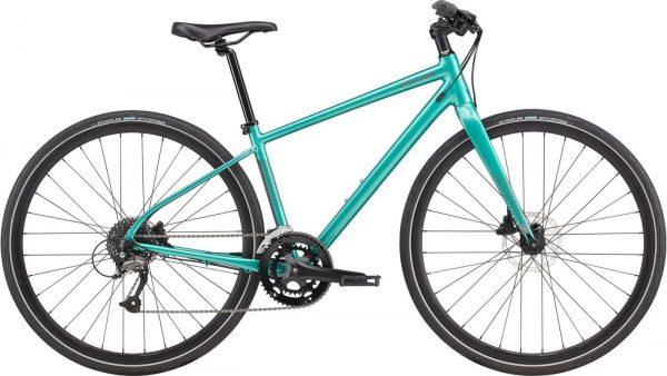 Cannondale Quick Disc 3 Altus Womens City Bike 2021 (Blue)