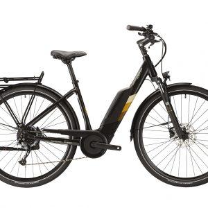 Lapierre Overvolt Urban 6.5 Electric City Bike 2021 (Black/Brown)