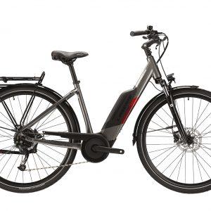 Lapierre Overvolt Urban 4.4 Electric City Bike 2021 (Silver/Red)