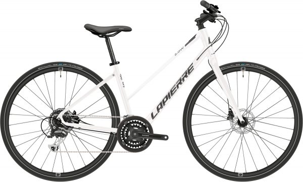 Lapierre Shaper 2.0 Disc Womens City Bike 2021 (White/Black)