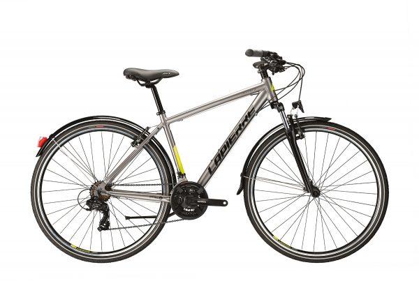 Lapierre Trekking 1.0 City Bike 2021 (Silver/Black/Yellow)