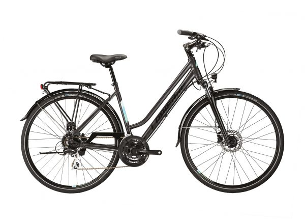 Lapierre Trekking 3.0 Womens City Bike 2021 (Black/Blue)