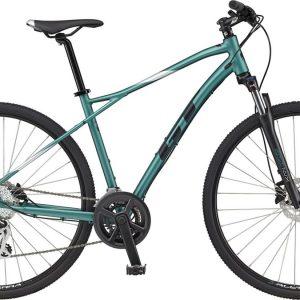 GT Transeo Elite Acera City Bike 2021 (Green)