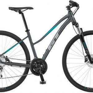 GT Transeo Comp Tourney Womens City Bike 2021 (Grey)