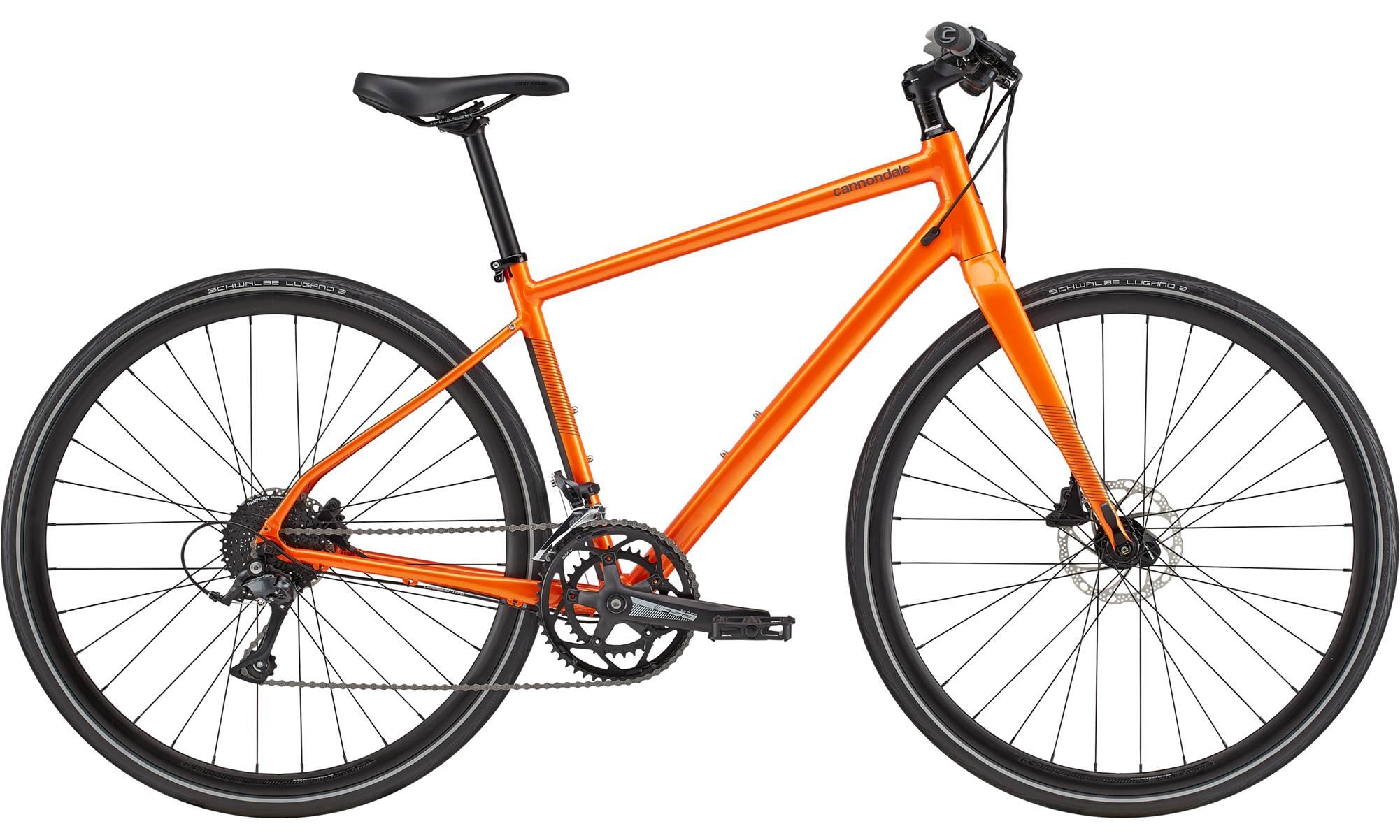 Cannondale Quick Disc 2 City Bike 2021 (Orange)