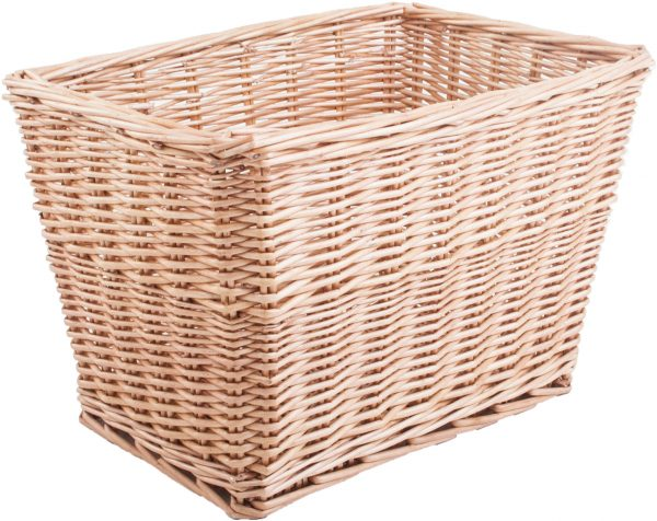 Basket rectangular back and bottom plate