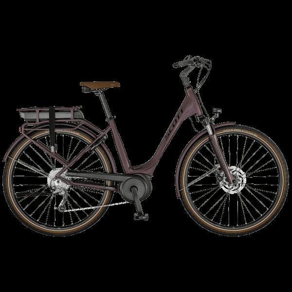 SCOTT Sub Active eRIDE 30 USX rack Bike