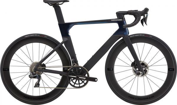 Cannondale SystemSix Hi-MOD Dura-Ace Di2 Road Bike 2021 (Black/Blue)