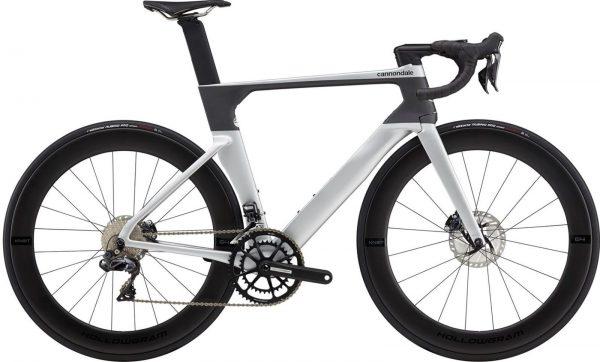 Cannondale SystemSix Hi-MOD Ultegra Di2 Road Bike 2021 (Silver/Grey)