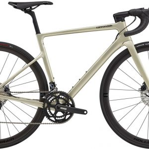 Cannondale SuperSix EVO Carbon Disc Ultegra Womens Road Bike 2021 (Gold)