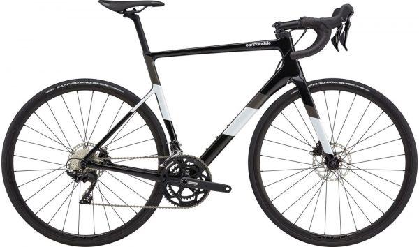 Cannondale SuperSix EVO Carbon Disc 105 Road Bike 2021 (Black/White)