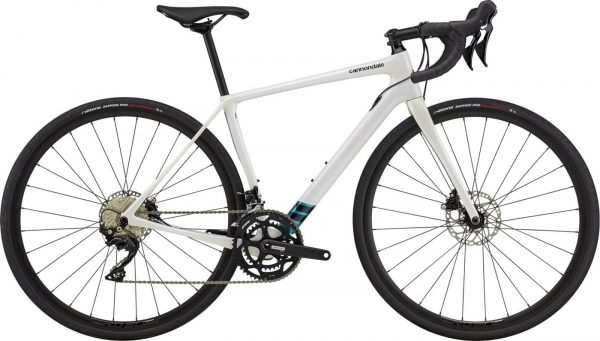 Cannondale Synapse Carbon 105 Womens Road Bike 2021 (White)