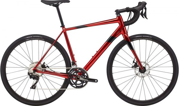 Cannondale Synapse Alloy 105 Road Bike 2021 (Red)