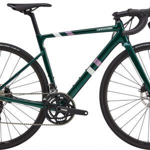 Cannondale CAAD13 Disc 105 Womens Road Bike 2021 (Dark Green)