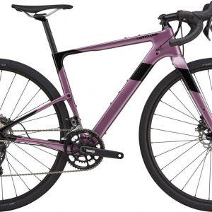 Cannondale Topstone Carbon 4 GRX Womens Gravel Bike 2021 (Purple/Black)