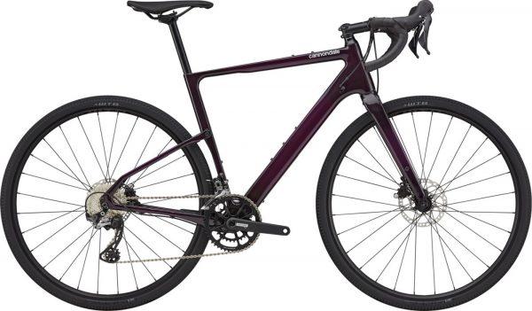 Cannondale Topstone Carbon 5 GRX Gravel Bike 2021 (Dark Purple)