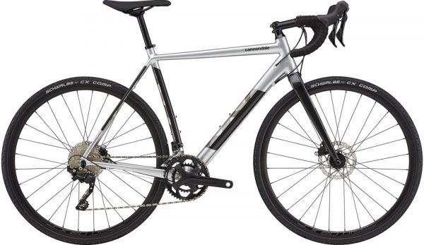 Cannondale CAADX 1 GRX Cyclocross Bike 2021 (Silver/Black)