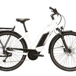 Lapierre Overvolt Trekking 6.4 Womens Electric City Bike 2021 (White/Black)