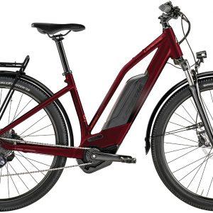 Lapierre Overvolt Explorer 6.4 Womens Electric City Bike 2021 (Red)