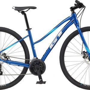 GT Transeo Sport Tourney Womens City Bike 2021 (Blue)