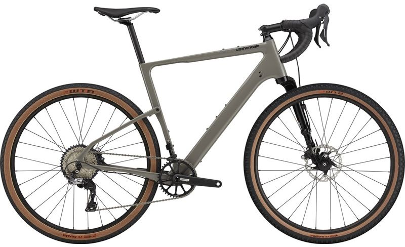 Cannondale Topstone Carbon Lefty 3 Gravel Bike 2021 (Grey)