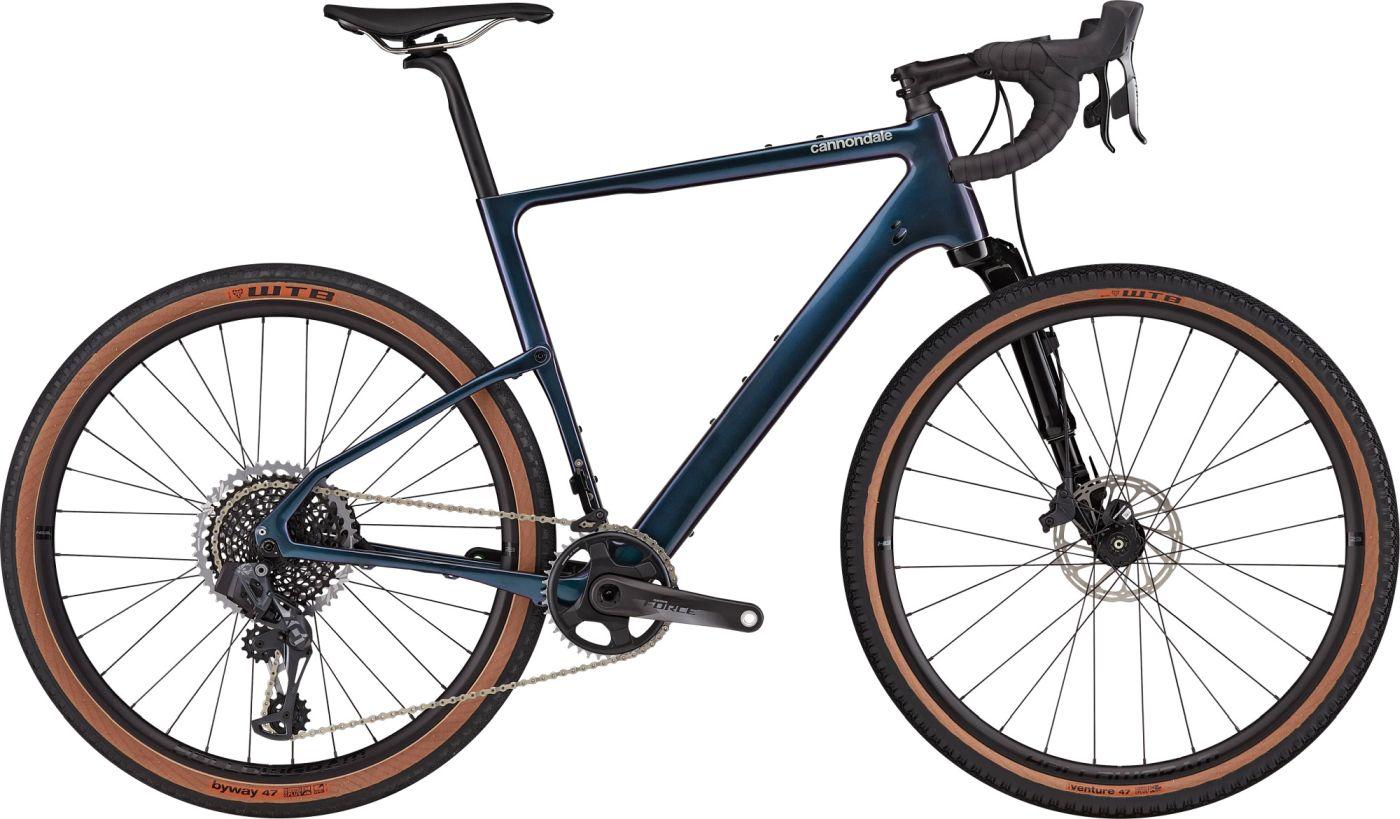 Cannondale Topstone Carbon Lefty 1 Gravel Bike 2021 (Blue)