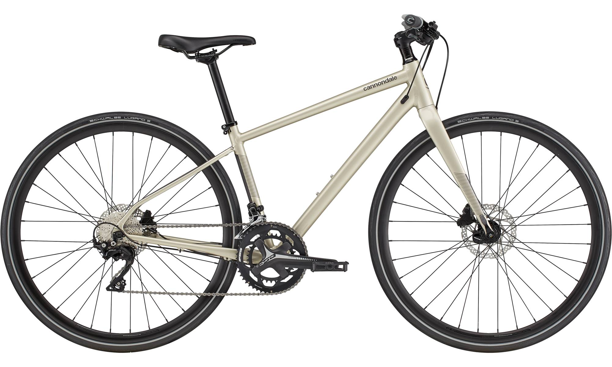 Cannondale Quick Disc 1 Womens City Bike 2021 (Silver)