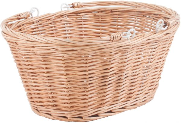 Basket Oval With Back And Bottom Plate